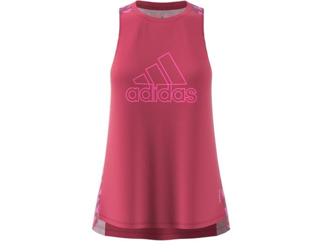 adidas OWN The Run Celebration Tank Top Damen wild pink
